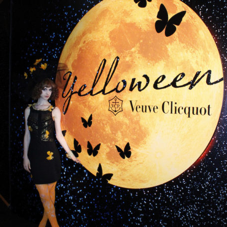 Veuve Clicquot Yelloween with The World of Tim Burton PARTY