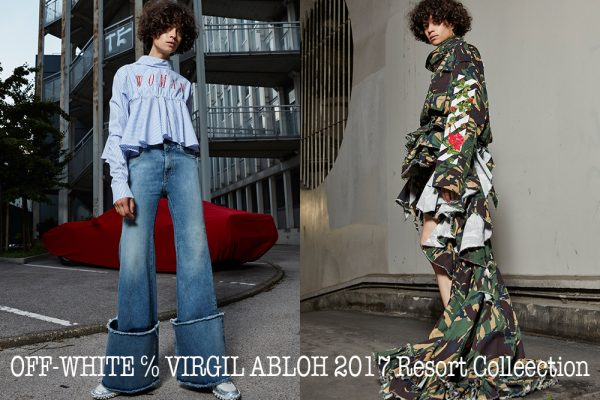 OFF-WHITE ℅ VIRGIL ABLOH 2017 Resort_banner