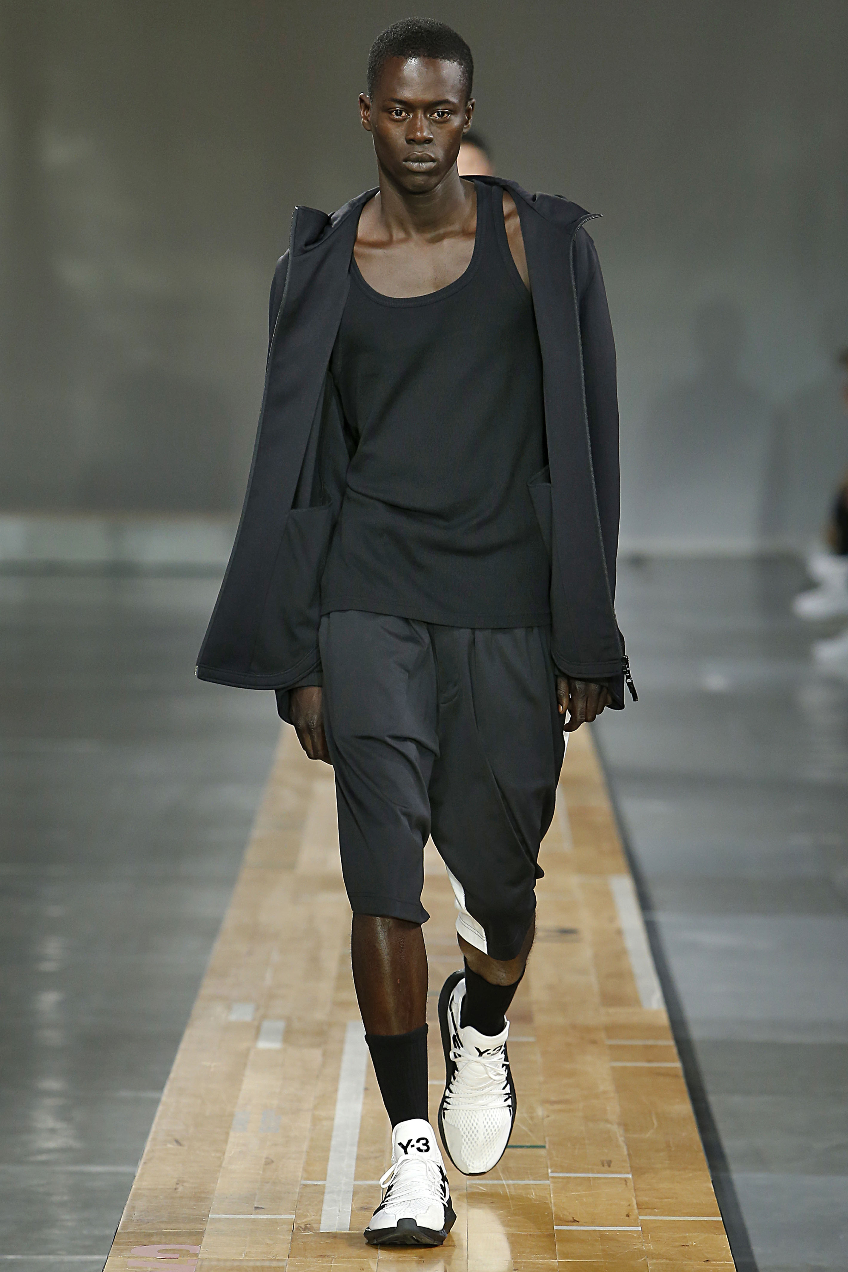 Y3 Paris Menswear Spring Summer 2018 Paris June 2017