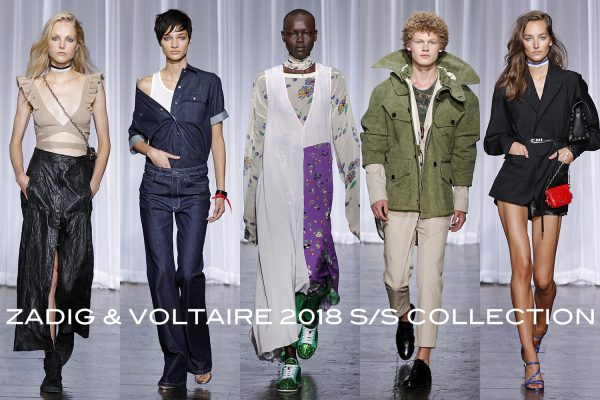 Zadie & Voltaire SS18 New York Fashion Week september 2017