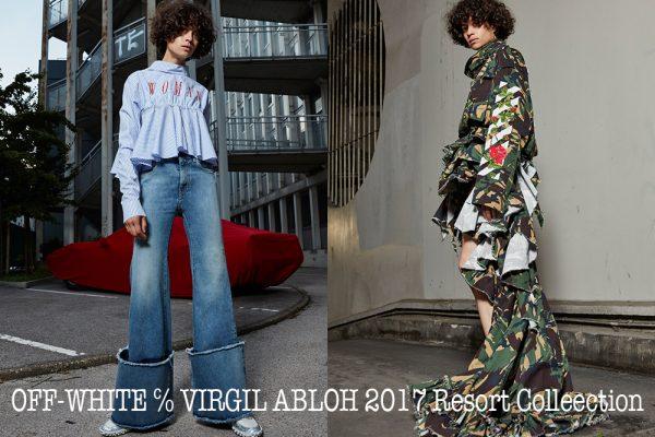 OFF-WHITE ℅ VIRGIL ABLOH 2017 Resort_banner