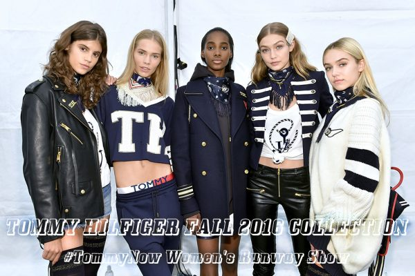 #TOMMYNOW Women's Runway Show Fall 2016 - Backstage