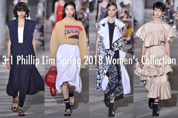 3 1 Phillip Lim New York Fashion Week Fall Winter 2017 NY September 2017